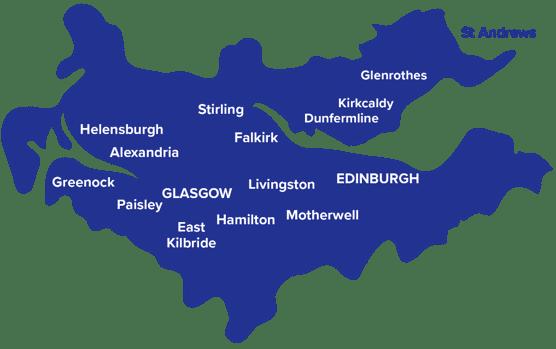 capital scotland tsa map