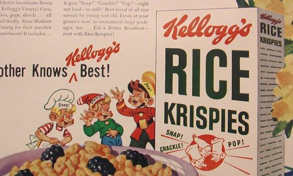 Kelloggs Rice Krispies Vintage