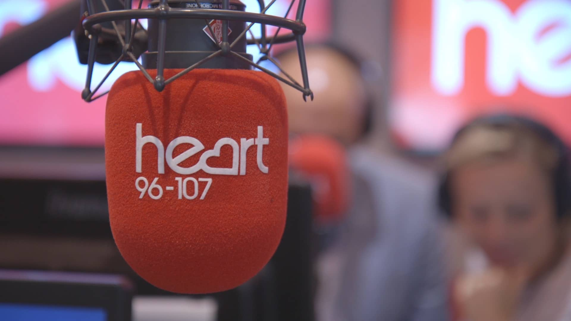 Heart studio microphone
