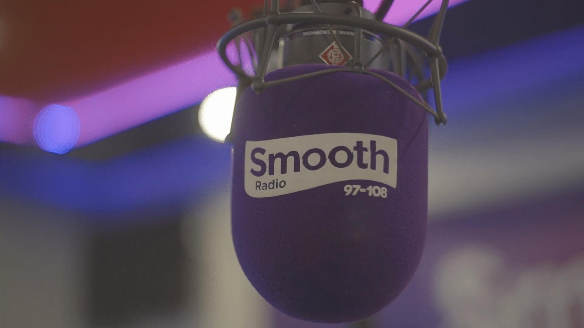 Smooth Radio Microphone in studio