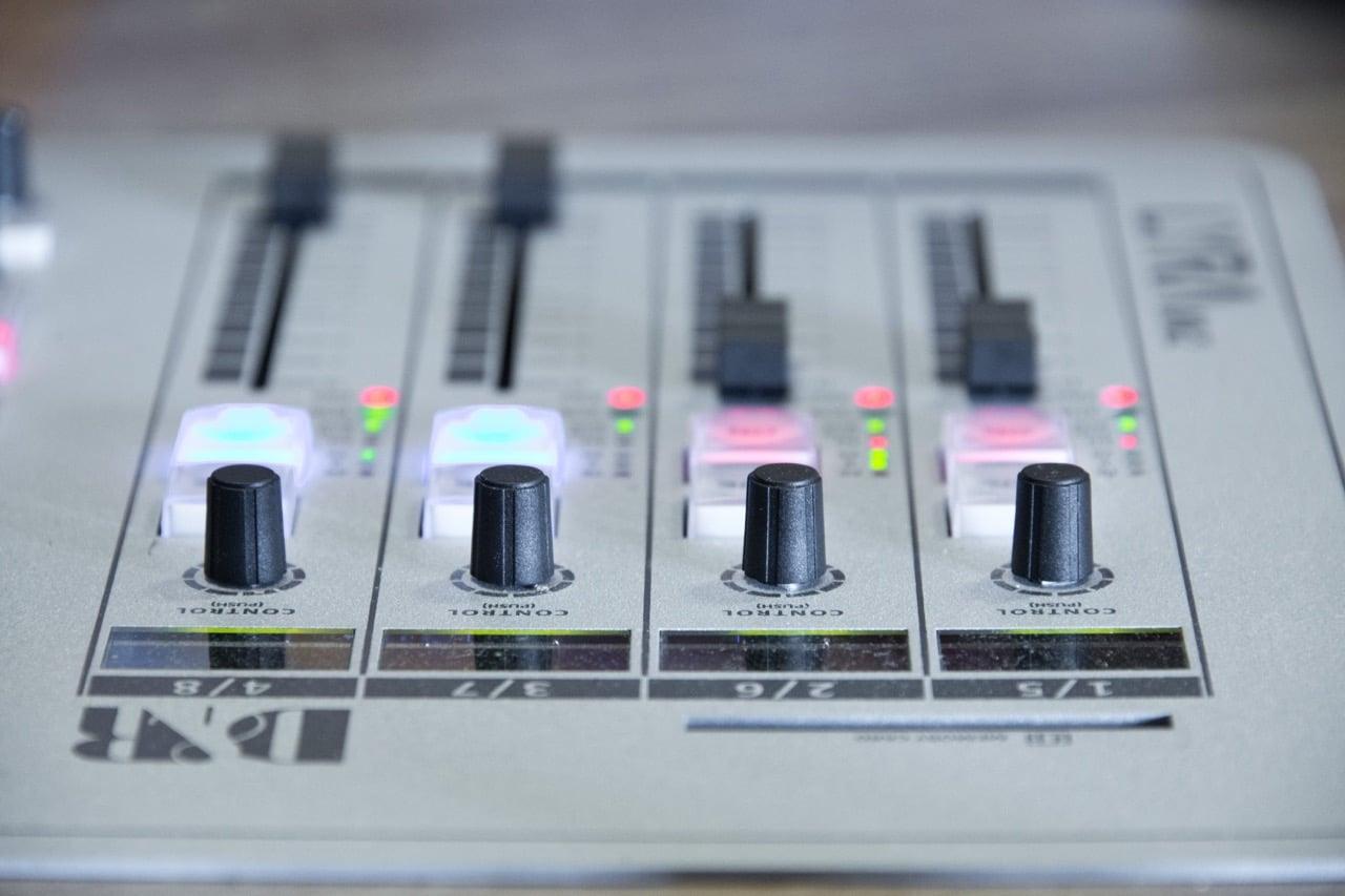 Generic radio desk image