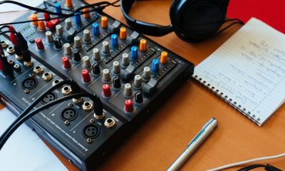 Generic images of a portable mixing desk